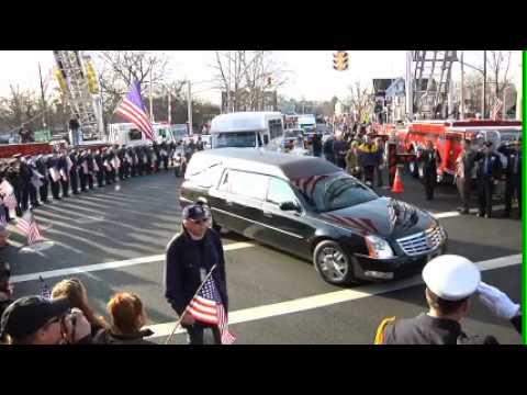 MARINE Sgt Chris Hrbek procession
