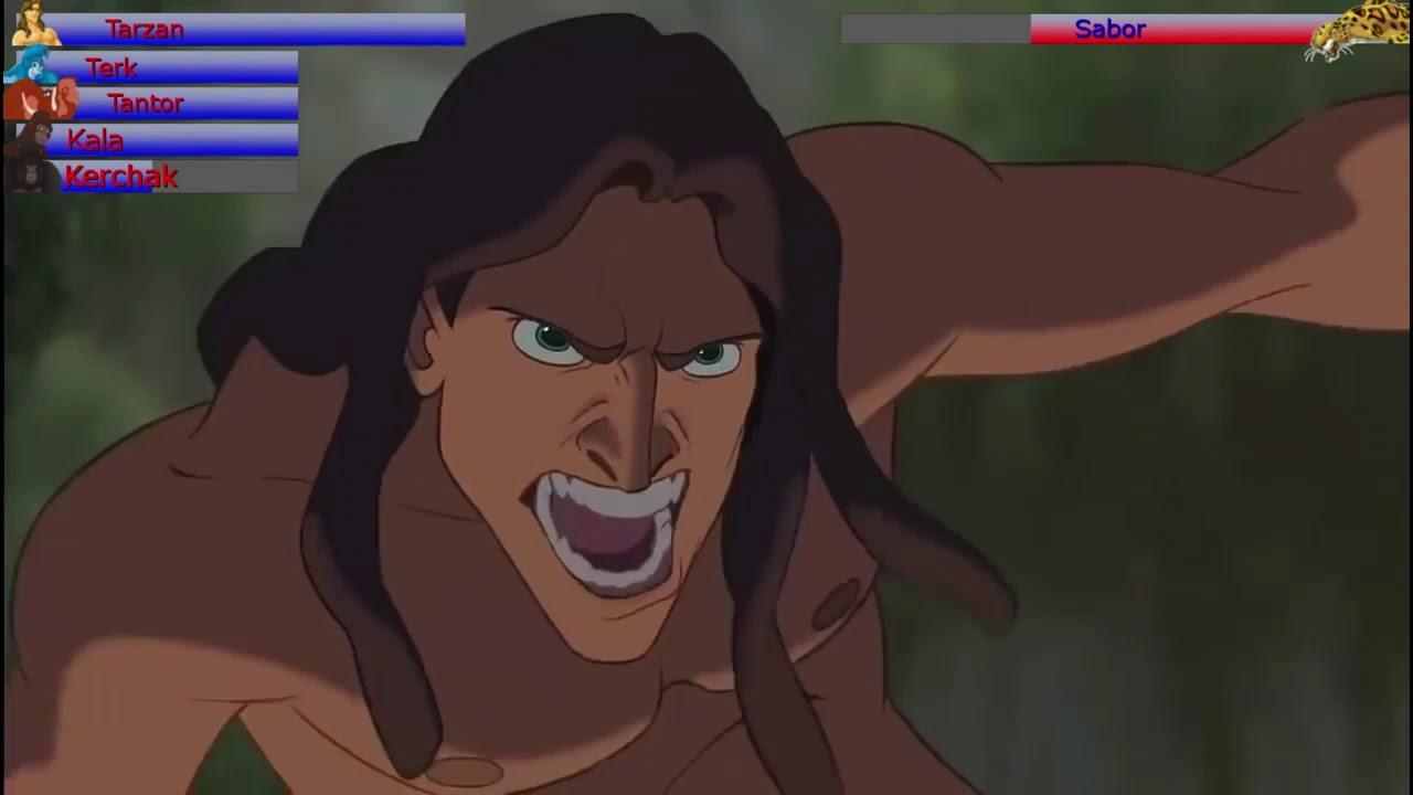 Download Tarzan vs. Sabor with healthbars (Edited By @Gabe Dietrichson)