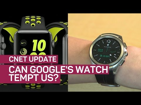 Tick, tock, Apple Watch: Google's new watches may land early 2017