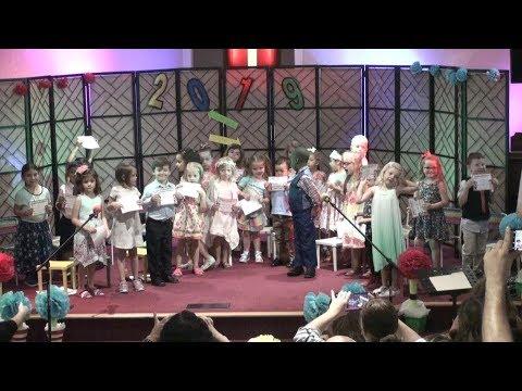 WH Oasis Christian Academy - PK Graduation Program (5-21-2019)