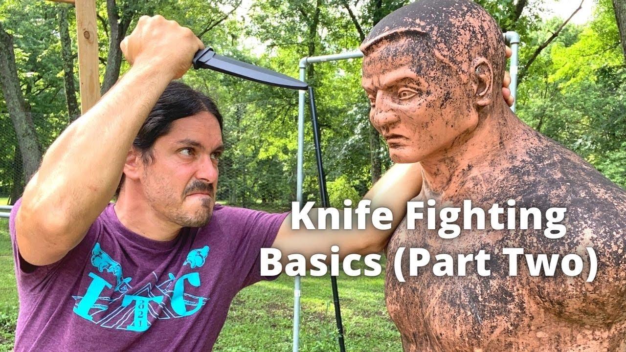Kali Knife Fighting Basics Part Two - Pakal (Reverse) Grip