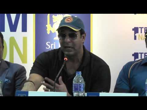 Wasim Akram the King of Swing in Sri Lanka : Press Conference