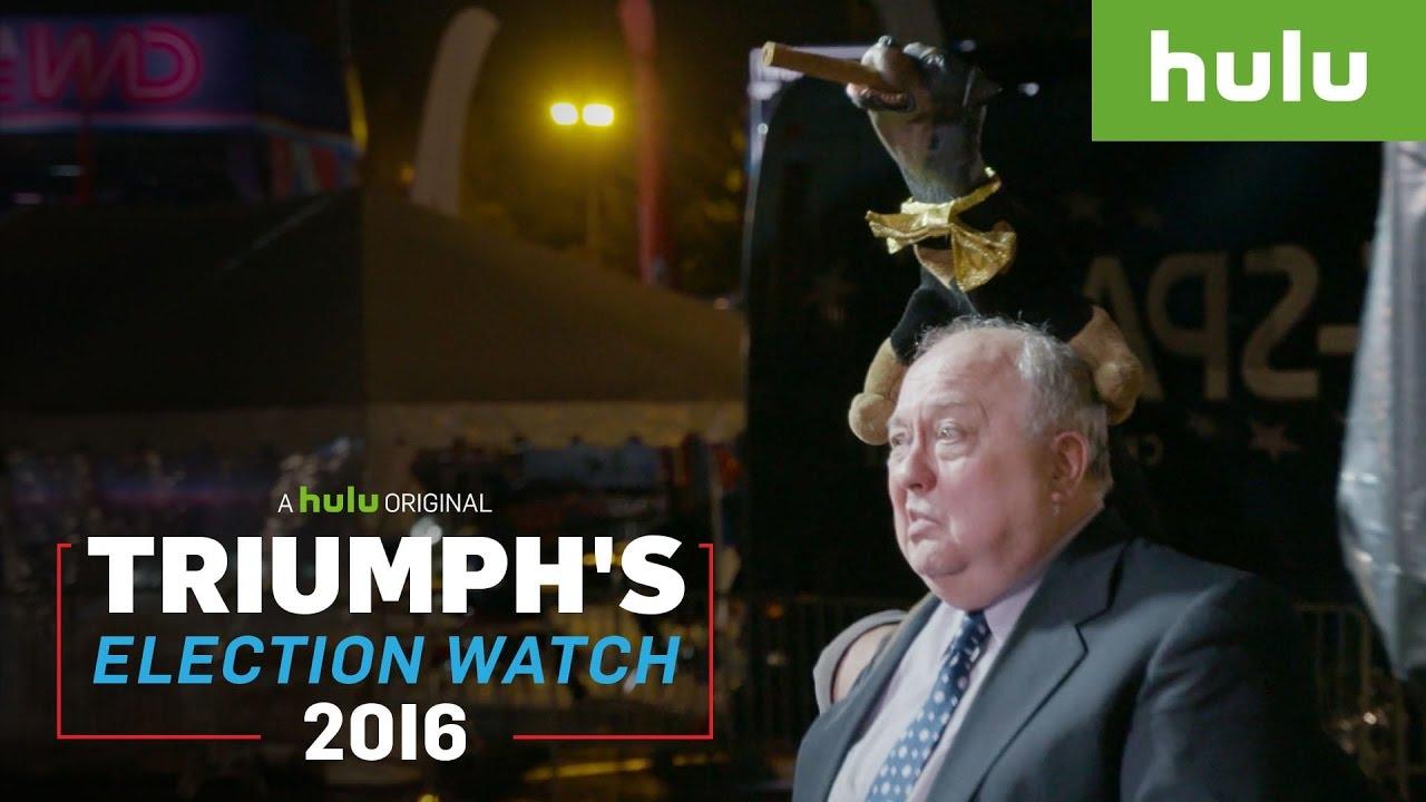 triumph photobombs the debates • triumph's summer election special