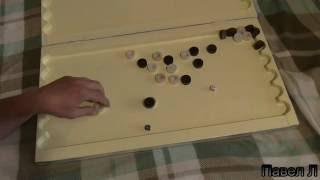 Как сделать нарды дома (из дерева)backgammon