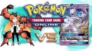 Natalie Plays Buzzwole GX / Garbodor vs Silvally GX / Psychic - Pokemon TCG Online Gameplay