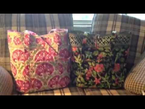 234821978d17 Vera Bradley request  favorite tote   bags - YouTube