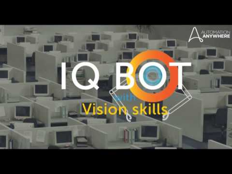 Basic concept of IQ Bots with visions Skill In Automation Anywhere