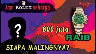 Jam ROLEX 800 JUTA hilang di panggung, KOK BISA?