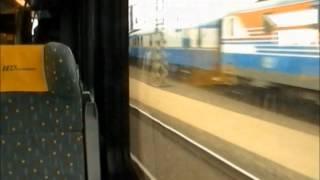 Brzdové zkoušky soupravy LEO Express