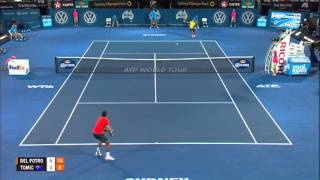 Juan Martin DEL POTRO (ARG) vs Bernard TOMIC (AUS) FINAL HIGHLIGHTS Apia International Sydney 2014