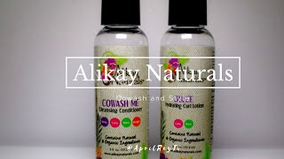 Twist Out Using Alikay Naturals: Cowash Me + Dulce Hydrating Curl Lotion / Type 4 Natural Hair
