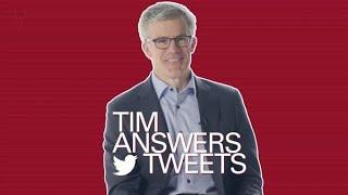 Tim answers tweets