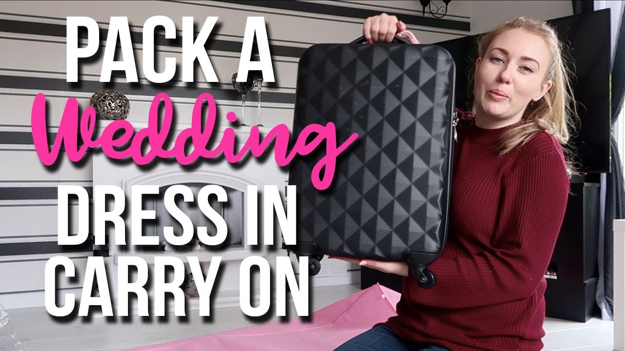 dab31c80c210 HOW TO PACK A BALLGOWN WEDDING DRESS INTO CARRY ON HAND LUGAGE - A  CHILDMINDING MUMMY