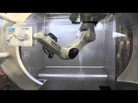 rowinco automatische roboter lackieranlage f r holzel doovi. Black Bedroom Furniture Sets. Home Design Ideas