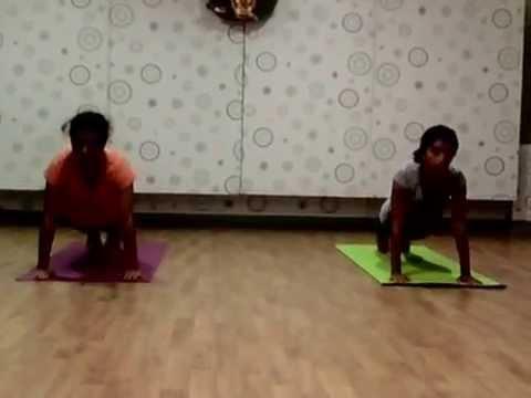vedic mantra cum chakra consantration yoga surya namaskar