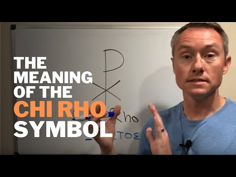 The Meaning Of The Chi Rho Symbol