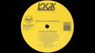 "Rapination & Kym Mazelle - Love Me the Right Way (The Real Rapino 12"" Mix) (1992)"