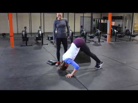 Handstand Push up Progressions