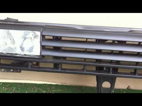 corrado rallye front f r vw golf 2 youtube. Black Bedroom Furniture Sets. Home Design Ideas