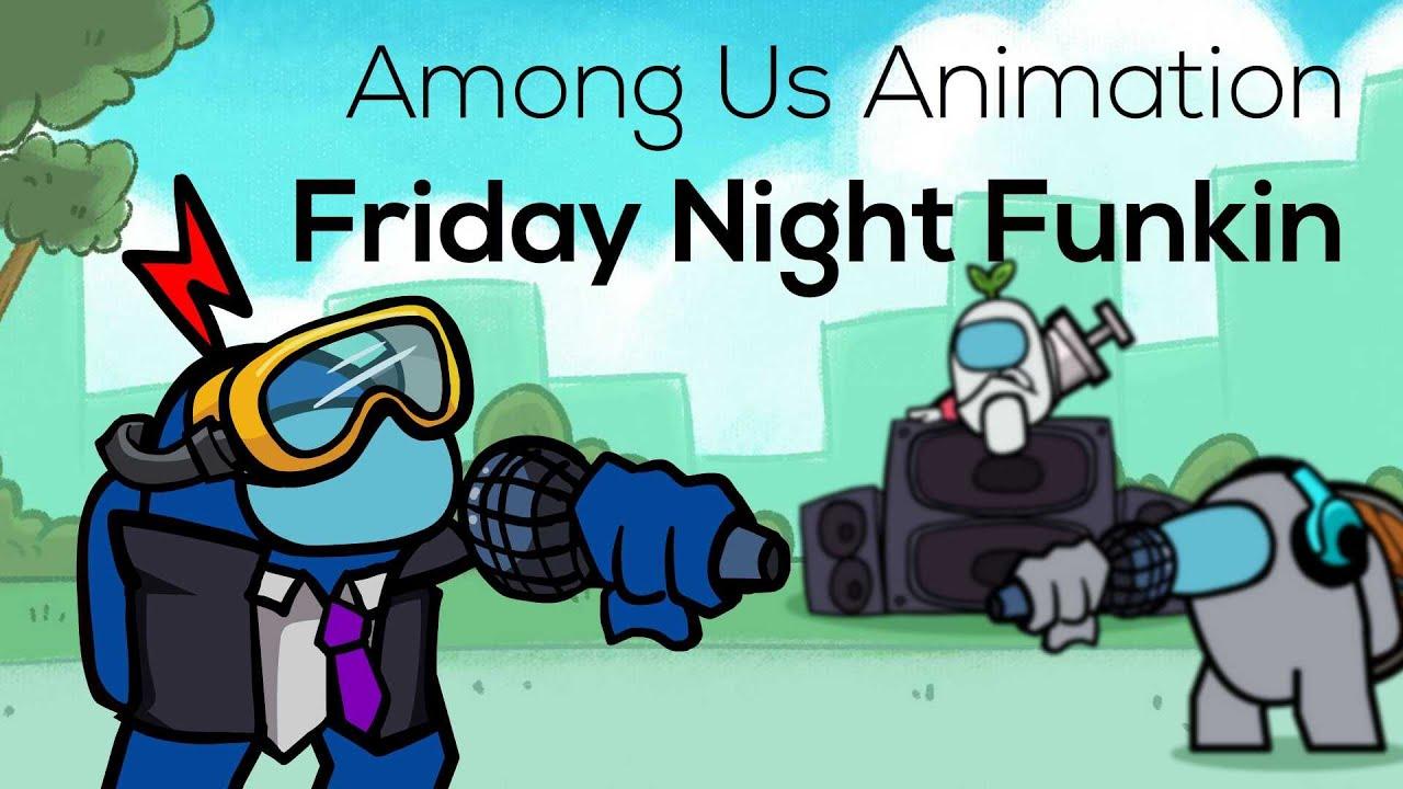 Among Us Animation: Friday Night Funkin