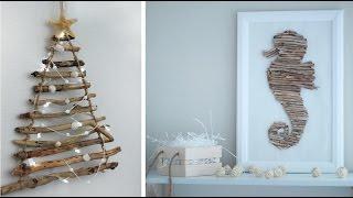 DIY ideas: Эко декор своими руками. Идея Pinterest