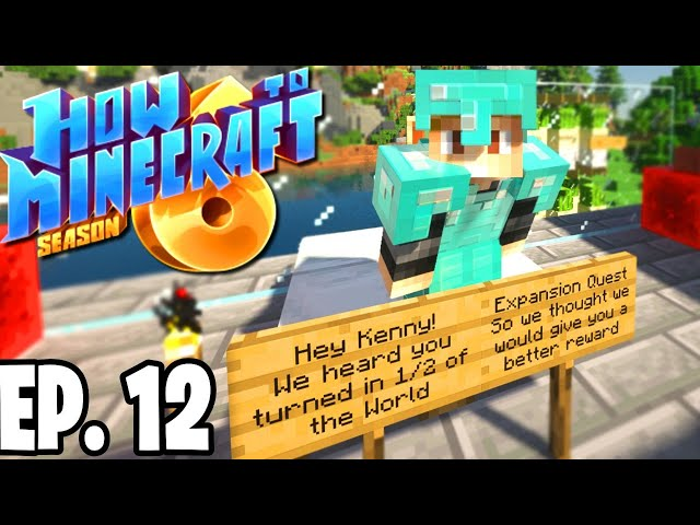 ADMINS MADE ME A SCAVENGER HUNT! |H6M| Ep.12 How To Minecraft Season 6 Survival Series (SMP)