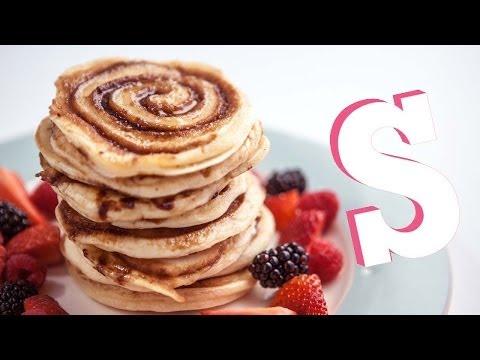 Cinnamon Swirl Pancakes Recipe