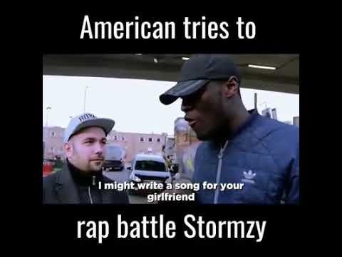 American Tries To Rap Battle Stormzy (2018)