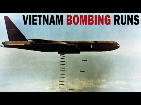 Vietnam War Bombing Runs Over Khe Sanh | 1968 | US Air Force Documentary