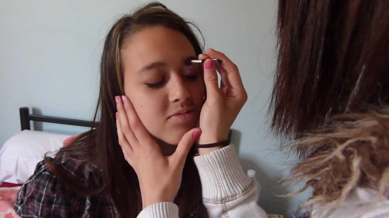 Maquillage de fou youtube - Maquillage chapelier fou ...