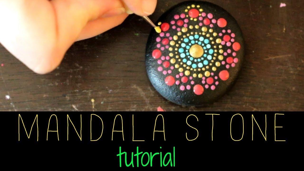 Mandala Stone Art