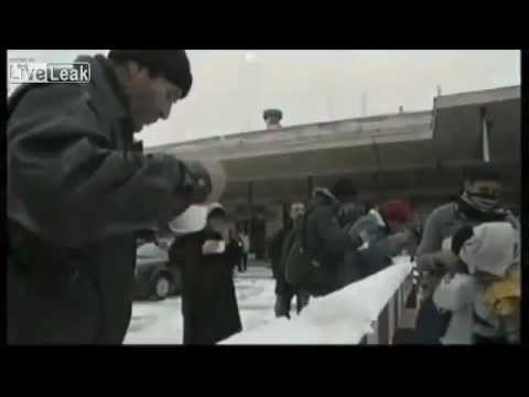 North Korea television takes a look at american poverty (north Korea lies about america)
