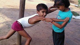 कालू और गुड्डी की लड़ाई