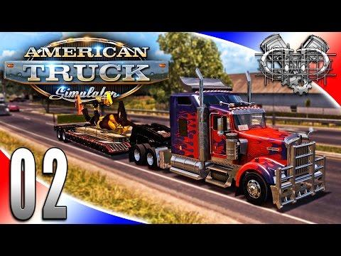 American Truck Simulator Gameplay : EP2 : $50k Job, Chatting Games & Such! (HD Trucking Sim)