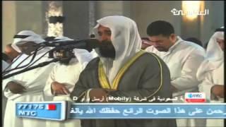 Jamaah Menangis Mendengar Bacaan Al Quran Syaikh Mishari Rashid Alafasy