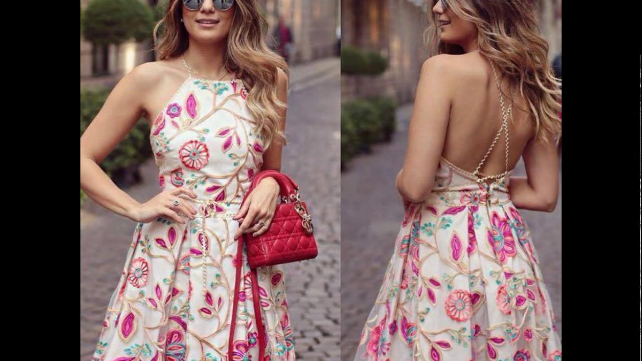 Moda Vestidos Espectaculares Tendencia 2017 2018
