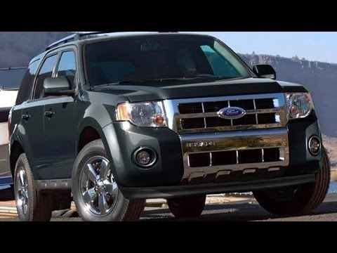 2011 Ford Escape Start Up and Review 2.5 L 4-Cylinder