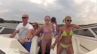 Turn Down For What Fail - Bikini Girls Boat Crash Remix - Original #TDFWFail