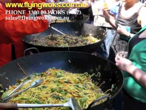 Asian Catering with Flying Woks, Wok Catering in Melbourne & beyond....