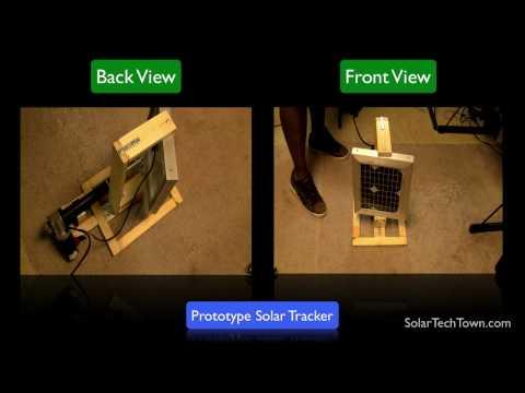 Solar Tracker (Open Source Circuit)