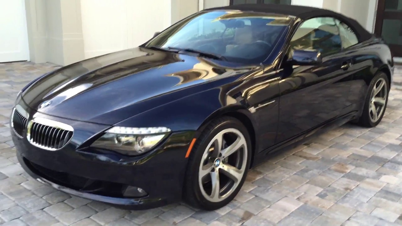 2009 Bmw 650i Convertible For Sale By Auto Europa Naples Youtube