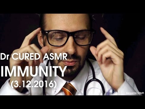 ASMR Immunity Cured! Doctor Role Play