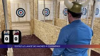 Yvelines | Testez le lancer de haches à Coignières !