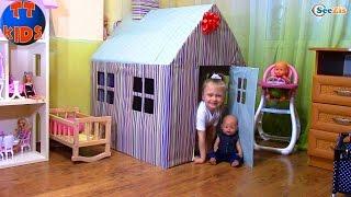Кукла Беби Борн. Обзор Дома для Кукол от Ярославы. Игрушки для детей. Doll Baby Born