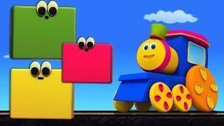 Bob Farben Zug | Kinder lernen | Bildungsvideo | Educational Bob The Train | Bob Colors Train