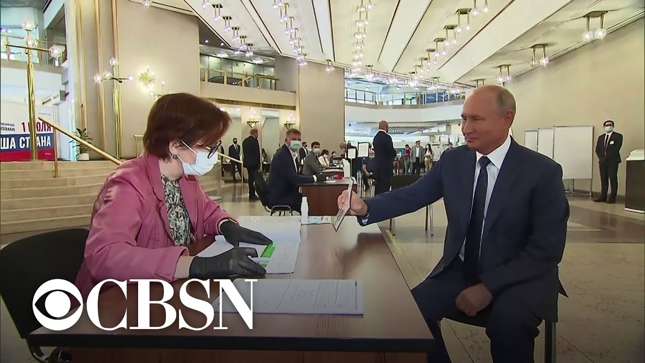 Russia votes on referendum to allow Putin to stay president until 2036