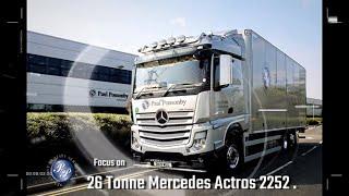 Paul Ponsonby Mercedes Actros 26 tonne