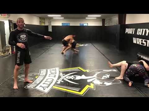 Double Leg Takedown Goes Wrong - 1000515