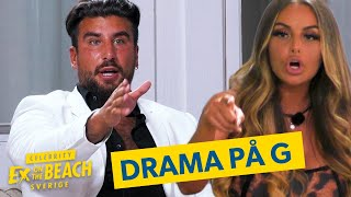 Ex on the Beach Sverige | Spänning i luften när Anna-Lisa kommer in | Streama på discovery+