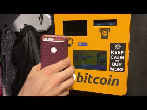 How to buy from bitcoin vending machine at Seacoast Rep Portsmouth NH
